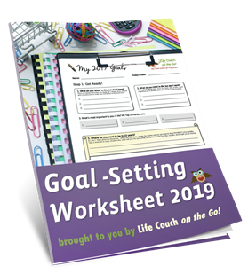 2019 Goal-Setting Worksheet