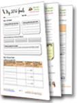 2013 Goal Setting Worksheet Image