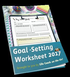 Goal Setting Worksheet 2017