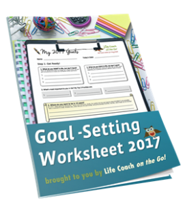 Goal Setting Worksheet 2017