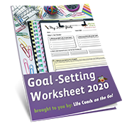 2020 Goal-Setting Worksheet Image