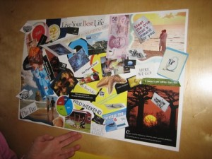How to Create a Vision Board Example