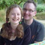 Duncan and I at a friend's on Salt Spring Island